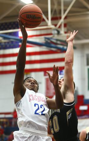 12-3-16<br /> Kokomo vs Lebanon boys basketball<br /> Kokomo's Brevin Beard shoots.<br /> Kelly Lafferty Gerber | Kokomo Tribune