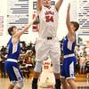 12-16-16<br /> Cass vs Tipton boys basketball<br /> Cass' Cohen Nies shoots.<br /> Kelly Lafferty Gerber | Kokomo Tribune