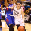 12-6-16<br /> Kokomo vs Western girls basketball<br /> Western's Livi King tries to get around Kokomo's defense.<br /> Kelly Lafferty Gerber | Kokomo Tribune