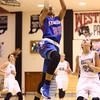 12-6-16<br /> Kokomo vs Western girls basketball<br /> Jayda Andrews shoots.<br /> Kelly Lafferty Gerber | Kokomo Tribune