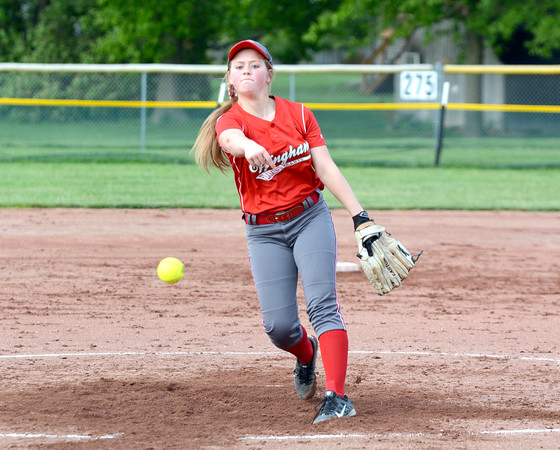 Aly Armstrong<br /> <br /> Effingham<br /> <br /> 2016 Statistics<br /> <br /> .321/.426/.417, 5 2B, 1 HR, 18 RBI, 11 R, 19-5, 153 IP, 1.28 ERA, 0.81 WHIP, 210 K, 21 BB<br /> <br /> Awards/Honors<br /> <br /> First Team All-Apollo Conference