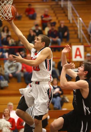 2-12-16<br /> Cass vs Western boys basketball<br /> Cass' Josh Hershberger<br /> Kelly Lafferty Gerber | Kokomo Tribune