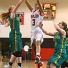 2-2-16 Taylor vs Eastern girls sectional basketball <br /> Taylor's Asia Stabler grabs a rebound.<br /> Kelly Lafferty Gerber | Kokomo Tribune