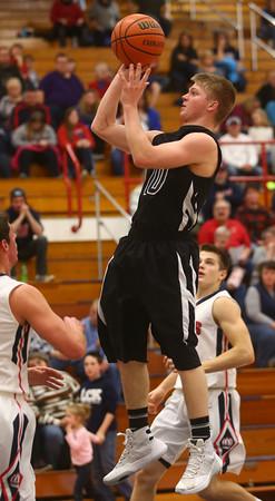 2-12-16<br /> Cass vs Western boys basketball<br /> Western's Josh Beeler<br /> Kelly Lafferty Gerber | Kokomo Tribune