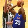 2-17-16<br /> Kokomo blue vs Eastern 8th grade basketball<br /> Kokomo Blue's Deonte Young<br /> Kelly Lafferty Gerber | Kokomo Tribune