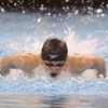 2-18-16<br /> Sectional swimming prelims<br /> Kokomo's Max White in the 100 Y Butterfly<br /> Kelly Lafferty Gerber | Kokomo Tribune