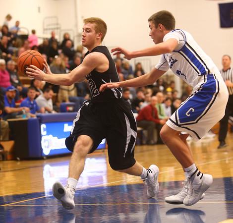 2-23-16<br /> Western vs Carroll boys basketball<br /> <br /> Kelly Lafferty Gerber | Kokomo Tribune