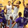 2-19-16<br /> Kokomo vs Muncie Central<br /> Kokomo's Jordan Matthews<br /> Kelly Lafferty Gerber | Kokomo Tribune