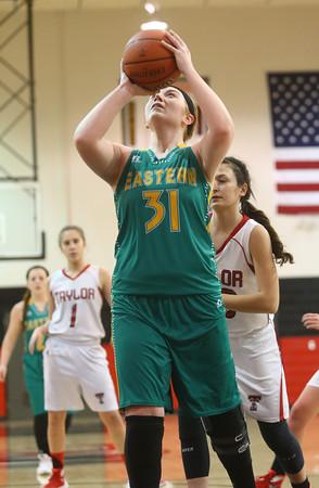 2-2-16 Taylor vs Eastern girls sectional basketball Kelly Lafferty Gerber   Kokomo Tribune