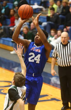 2-17-16<br /> Kokomo blue vs Eastern 8th grade basketball<br /> Kokomo Blue's Jeremy Baker<br /> Kelly Lafferty Gerber   Kokomo Tribune