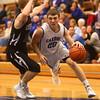 2-23-16<br /> Western vs Carroll boys basketball<br /> Carroll's Brandt McClain<br /> Kelly Lafferty Gerber | Kokomo Tribune