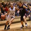 2-6-16 Tri Central girls basketball sectional win <br /> Tri Central's Haley Farris<br /> Kelly Lafferty Gerber | Kokomo Tribune