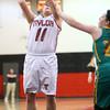 2-2-16 Taylor vs Eastern girls sectional basketball <br /> Taylor's Hannah Mullinax<br /> Kelly Lafferty Gerber | Kokomo Tribune