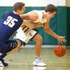 2-4-16 EHS vs Oak Hill Bbball <br /> Eastern's Braden Evans<br /> Kelly Lafferty Gerber | Kokomo Tribune