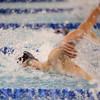 2-18-16<br /> Sectional swimming prelims<br /> Kokomo's Logan Hawk in the 50 Y Freestyle<br /> Kelly Lafferty Gerber | Kokomo Tribune