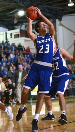 2-9-16 Eastern vs Tipton boys basketball <br /> Tipton's Sam Gutierrez<br /> Kelly Lafferty Gerber   Kokomo Tribune