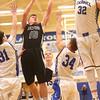 2-23-16<br /> Western vs Carroll boys basketball<br /> Western's Josh Beeler<br /> Kelly Lafferty Gerber | Kokomo Tribune
