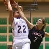 2-6-16 Tri Central girls basketball sectional win <br /> Tri Central's Serena Quesada<br /> Kelly Lafferty Gerber | Kokomo Tribune