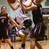 2-6-16 Tri Central girls basketball sectional win <br /> Tri Central's Kinsey Leininger<br /> Kelly Lafferty Gerber | Kokomo Tribune