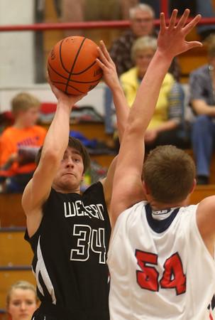 2-12-16<br /> Cass vs Western boys basketball<br /> Western's Kaleb Howard<br /> Kelly Lafferty Gerber | Kokomo Tribune