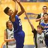 2-17-16<br /> Kokomo blue vs Eastern 8th grade basketball<br /> Kokomo Blue's Daniel Smith<br /> Kelly Lafferty Gerber | Kokomo Tribune