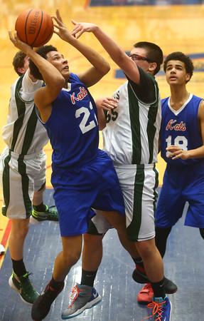 2-17-16<br /> Kokomo blue vs Eastern 8th grade basketball<br /> Kokomo Blue's Kohl Beard<br /> Kelly Lafferty Gerber   Kokomo Tribune