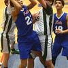 2-17-16<br /> Kokomo blue vs Eastern 8th grade basketball<br /> Kokomo Blue's Kohl Beard<br /> Kelly Lafferty Gerber | Kokomo Tribune