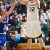 2-9-16 Eastern vs Tipton boys basketball <br /> Eastern's Jacob Kinder <br /> Kelly Lafferty Gerber | Kokomo Tribune