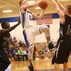2-23-16<br /> Western vs Carroll boys basketball<br /> Carroll's Trenton Brumett<br /> Kelly Lafferty Gerber | Kokomo Tribune