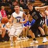 2-23-16<br /> Western vs Carroll boys basketball<br /> Carrol's Trey Filbrun<br /> Kelly Lafferty Gerber | Kokomo Tribune