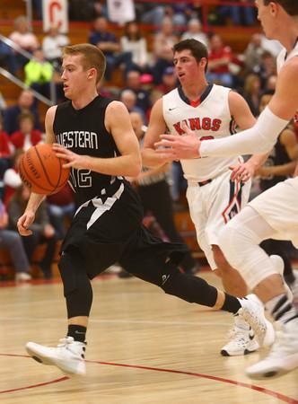 2-12-16<br /> Cass vs Western boys basketball<br /> Western's Cooper O'Neal<br /> Kelly Lafferty Gerber | Kokomo Tribune