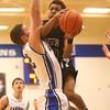 2-23-16<br /> Western vs Carroll boys basketball<br /> Western's Jeffrey McClung<br /> Kelly Lafferty Gerber | Kokomo Tribune