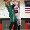 2-2-16 Taylor vs Eastern girls sectional basketball <br /> Eastern's Emily Richards and Taylor's Brie Boehler<br /> Kelly Lafferty Gerber | Kokomo Tribune