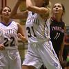 2-6-16 Tri Central girls basketball sectional win <br /> Tri Central's Emily Richard<br /> Kelly Lafferty Gerber | Kokomo Tribune