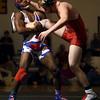 2-6-16<br /> Regional Wrestling<br /> Kokomo's DaShaun Barbary in the 170.<br /> Kelly Lafferty Gerber | Kokomo Tribune