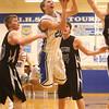 2-23-16<br /> Western vs Carroll boys basketball<br /> Carroll's Adam Beaver<br /> Kelly Lafferty Gerber | Kokomo Tribune