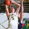 2-4-16 EHS vs Oak Hill Bbball <br /> Eastern's Tristen Moyers<br /> Kelly Lafferty Gerber | Kokomo Tribune