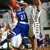 2-9-16 Eastern vs Tipton boys basketball <br /> Tipton's Tyler Slack<br /> Kelly Lafferty Gerber | Kokomo Tribune