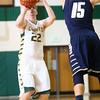 2-4-16 EHS vs Oak Hill Bbball <br /> Eastern's Jacob Kinder<br /> Kelly Lafferty Gerber | Kokomo Tribune