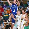2-9-16 Eastern vs Tipton boys basketball <br /> Tipton's Mason Degenkolb<br /> Kelly Lafferty Gerber | Kokomo Tribune