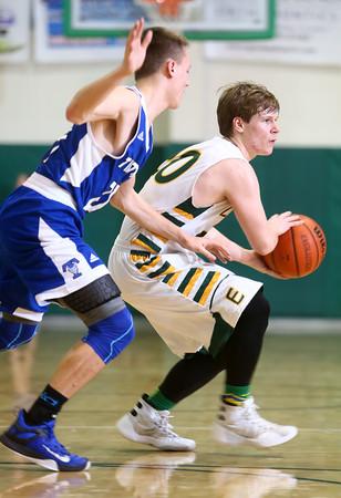2-9-16 Eastern vs Tipton boys basketball <br /> Eastern's Draeden Morris-Graber<br /> Kelly Lafferty Gerber   Kokomo Tribune