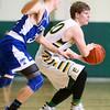 2-9-16 Eastern vs Tipton boys basketball <br /> Eastern's Draeden Morris-Graber<br /> Kelly Lafferty Gerber | Kokomo Tribune
