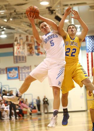 2-26-16<br /> Maconaquah vs Tri Central boys basketball<br /> <br /> Kelly Lafferty Gerber   Kokomo Tribune