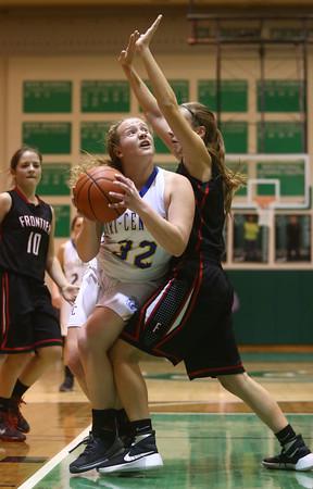 2-6-16 Tri Central girls basketball sectional win <br /> Tri Central's Jaide Cassity<br /> Kelly Lafferty Gerber   Kokomo Tribune