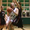 2-6-16 Tri Central girls basketball sectional win <br /> Tri Central's Jaide Cassity<br /> Kelly Lafferty Gerber | Kokomo Tribune