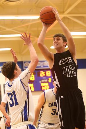 2-23-16<br /> Western vs Carroll boys basketball<br /> Western's Reed Hubbert<br /> Kelly Lafferty Gerber   Kokomo Tribune