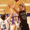 2-23-16<br /> Western vs Carroll boys basketball<br /> Western's Reed Hubbert<br /> Kelly Lafferty Gerber | Kokomo Tribune