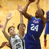 2-17-16<br /> Kokomo blue vs Eastern 8th grade basketball<br /> Kokomo Blue's Jeremy Baker<br /> Kelly Lafferty Gerber | Kokomo Tribune