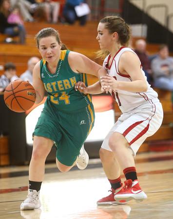 2-2-16 Taylor vs Eastern girls sectional basketball Kelly Lafferty Gerber | Kokomo Tribune
