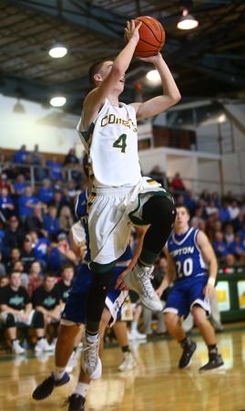 2-9-16 Eastern vs Tipton boys basketball <br /> Eastern's Zach Robinson<br /> Kelly Lafferty Gerber   Kokomo Tribune
